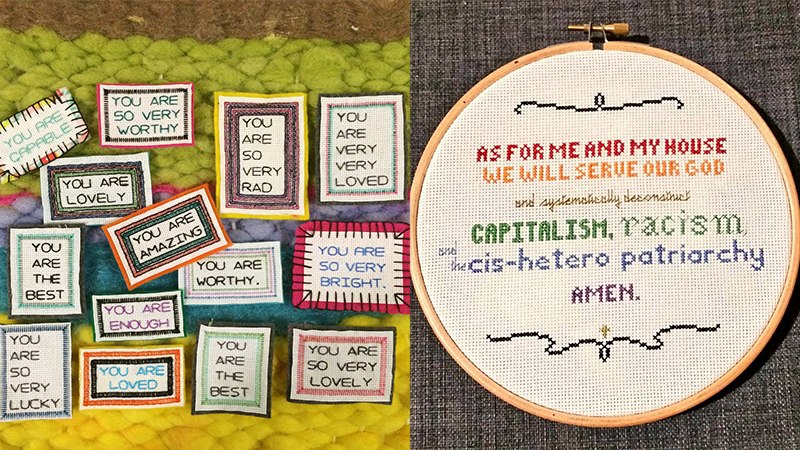 Craftivism Workshop