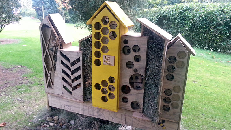 Harcourt Hill bug hotel