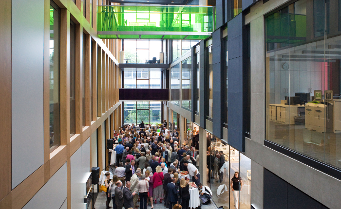 "Modern Architecture Oxford shami chakrabarti unveils the ""beginning of a great modern"