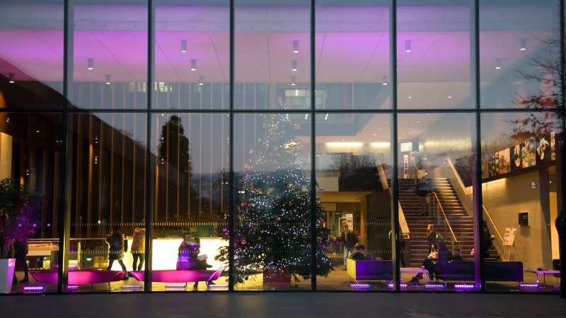 Oxford Brookes goes purple for International Day of Persons with Disabilities