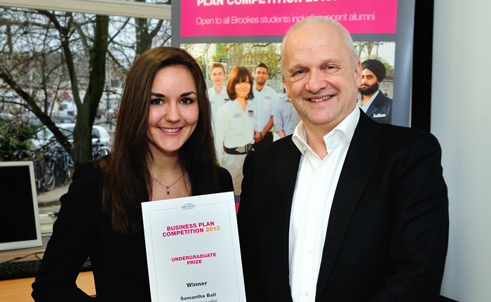 Brookes student shortlisted for national entrepreneurship award
