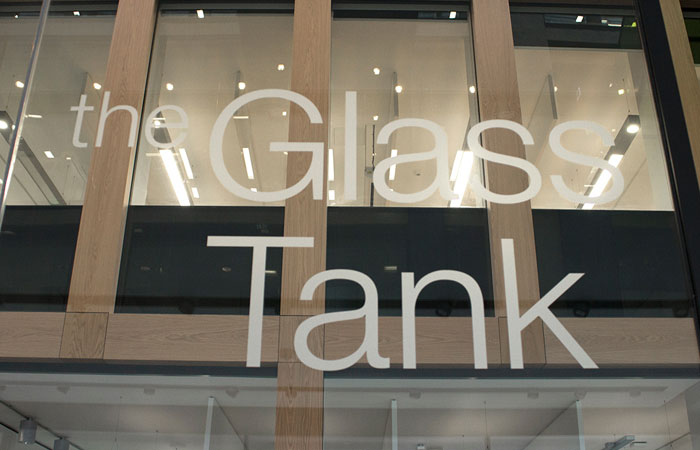Glass Tank sign