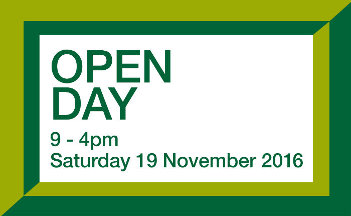 2016 open day