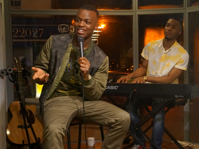Case studies - George the Poet