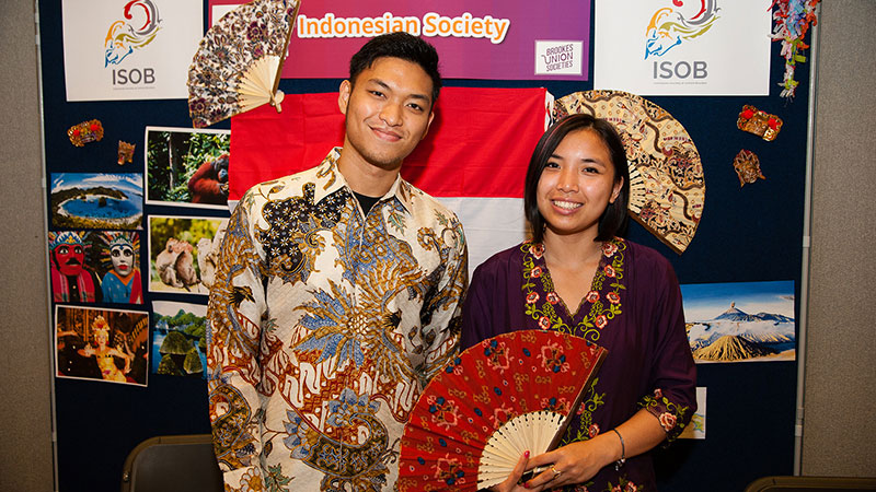 Meet international societies like the Indonesian Society