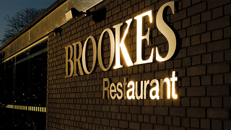 Learning through doing 3 - Brookes Restaurant