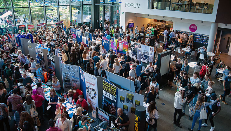 Clubs and societies in the Forum