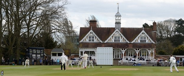 Oxford University Parks cricket ground