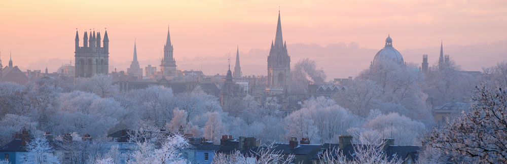 Banner - Oxford skyline