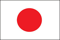 Japan Flag with Border