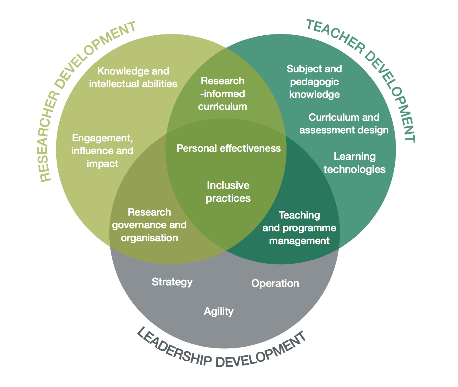 Academic Development Framework