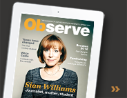 Download Observe magazine