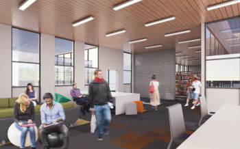 The refurbished Wheatley library