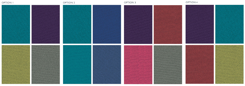 Clerici colour range options horizontal