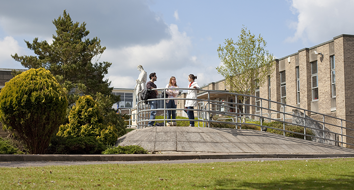 Students at Harcourt Hill Campus