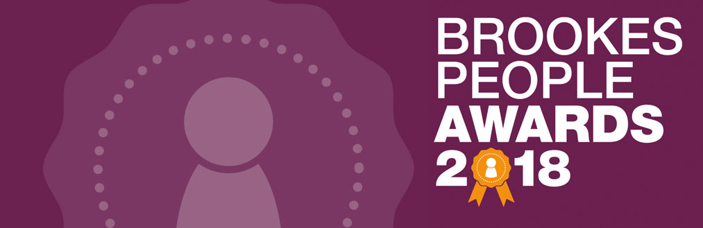 Brookes People Awards 2018 banner image
