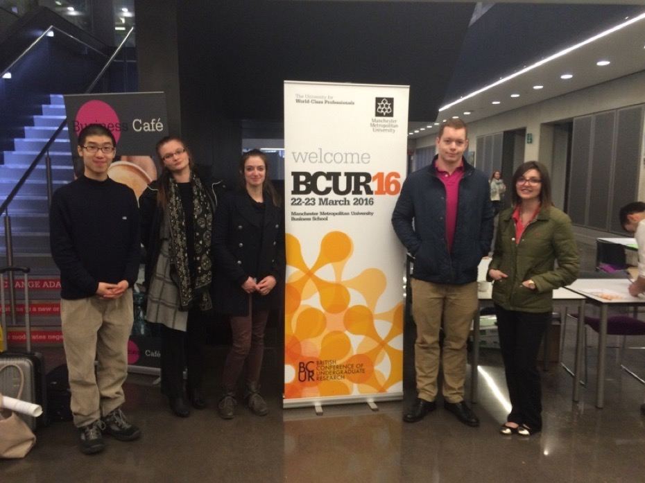 Oxford Brookes University Students at BCUR 2016
