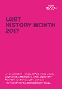 LGBT History Month programme