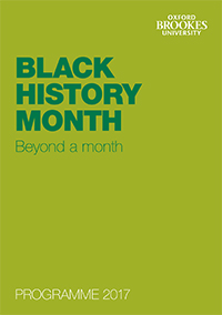 Black History Month 2017 cover image