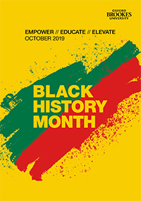 Black History Month 2019 cover image