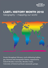 LGBT History Month Programme 2018