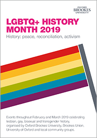 LGBT History Month Programme 2019