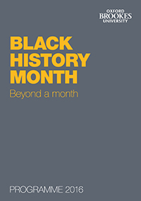 Black History Month 2016 cover image