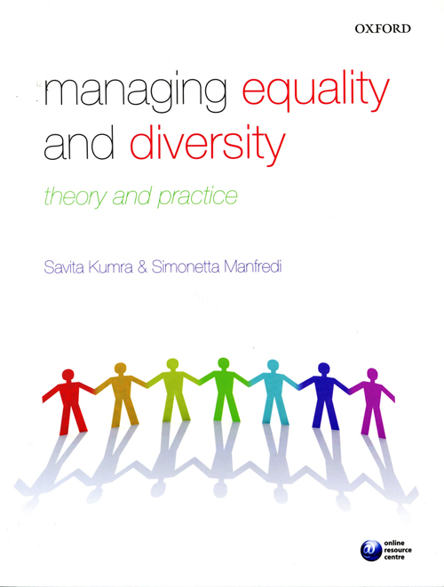 Managing equality book cover