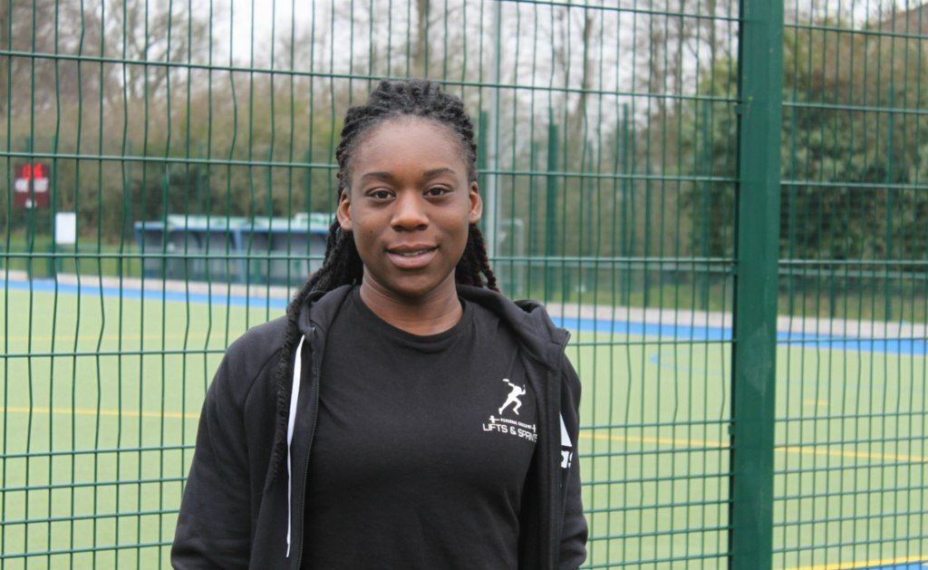 Aliysa Codrington, Sports Coaching and Physical Education student