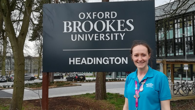 Oxford School of Nursing & Midwifery student shortlisted for national award