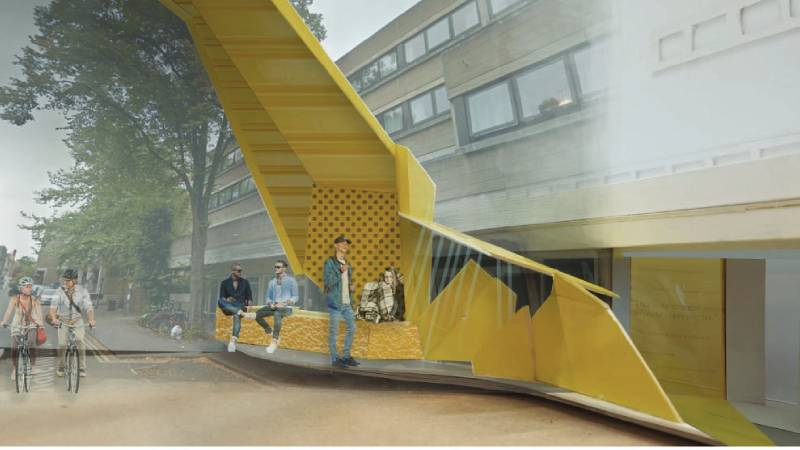 Challenging Thresholds - Architecture students open up the conversation about homelessness.