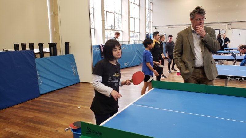 Oxford Brookes student organises inclusive event for World Table Tennis Day