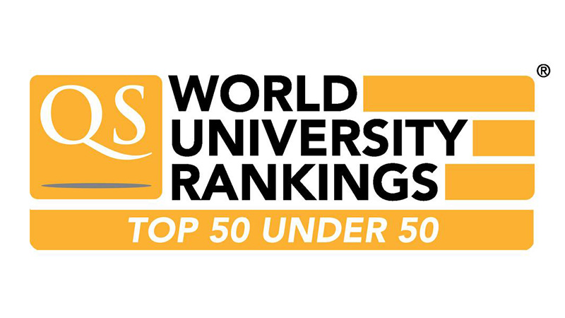 QS University rankings logo