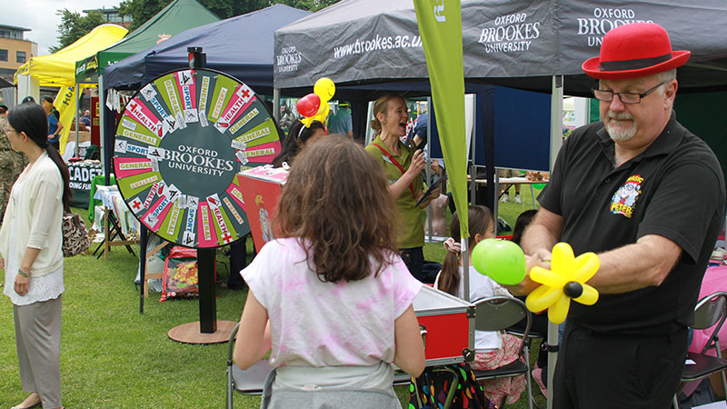 contributing to local community - headington festival