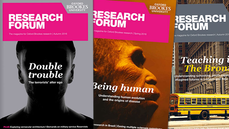Research Forum covers