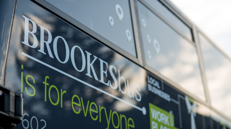 Sustainable transport - Brookes bus