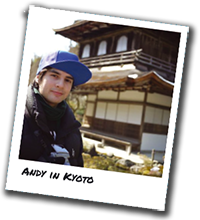 Andy in Kyoto