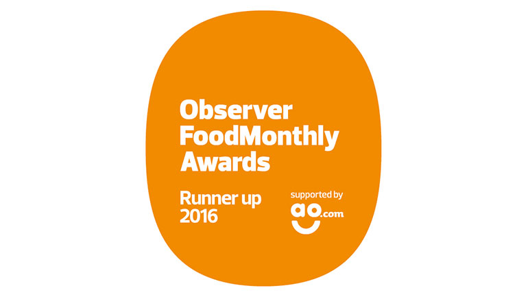 Brookes Restaurant has taken runner-up position in the 2016 Observer Food Monthly Awards