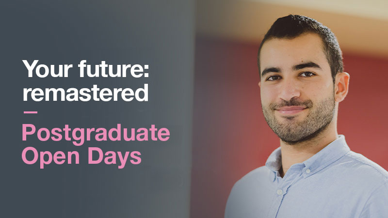 Postgraduate Open Days 2020