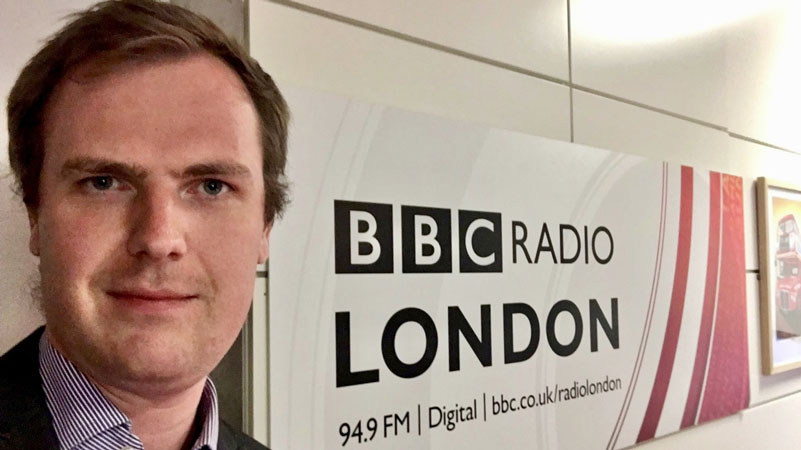 Brookes Lecturer discusses Acid Attacks on Radio London