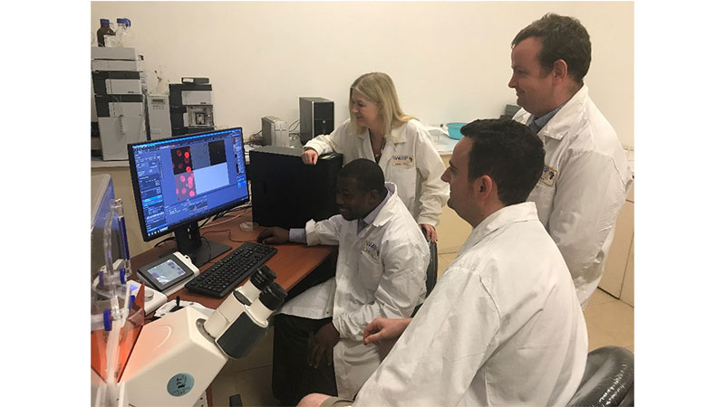 Oxford Brookes Bioimaging scientists help train African students and researcher in Ghana