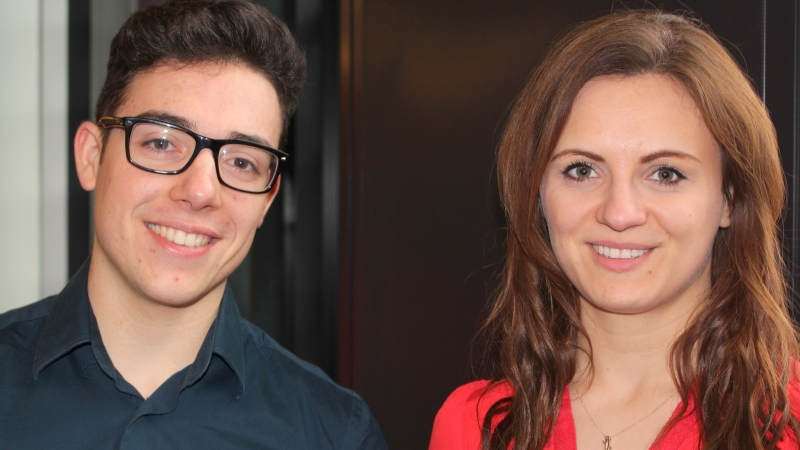 Raluca and Pedro talk about the Student Nursing Times Awards