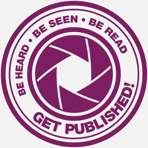 Get published logo purple small