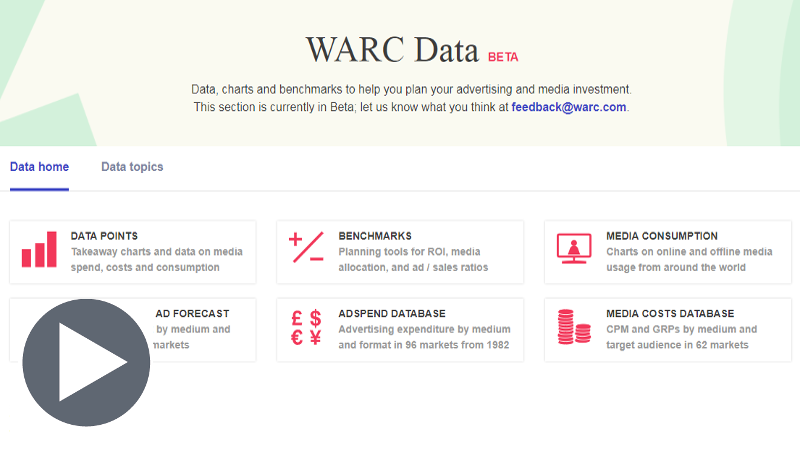 WARC data video