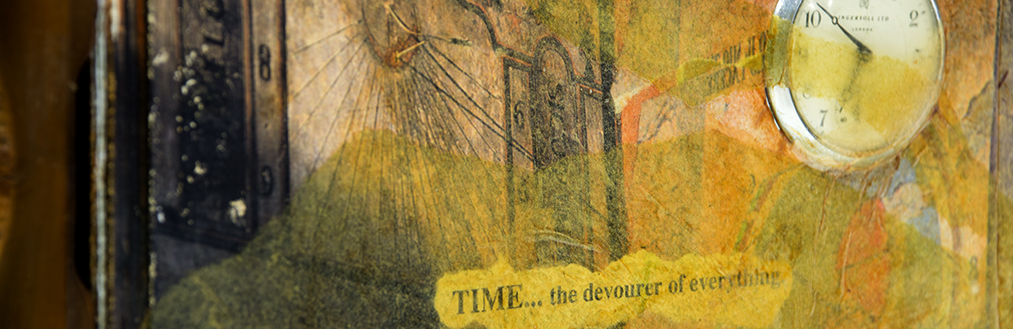 special collections artists books item - Time by Jane Ritchie