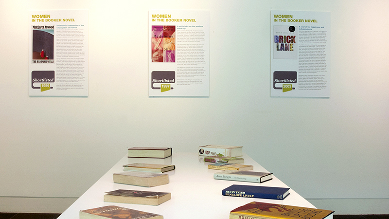 Exhibition on Women and the Booker Prize