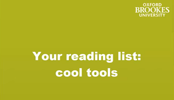 Your reading list - cool tools image