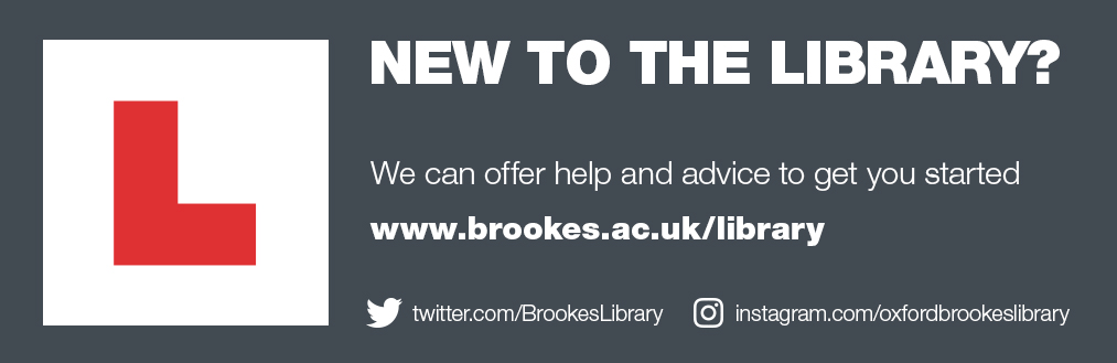 New to the library? We can offer help and advice to get you started. Decorative image
