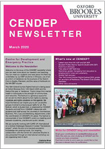 CENDEP Newsletter March 2020