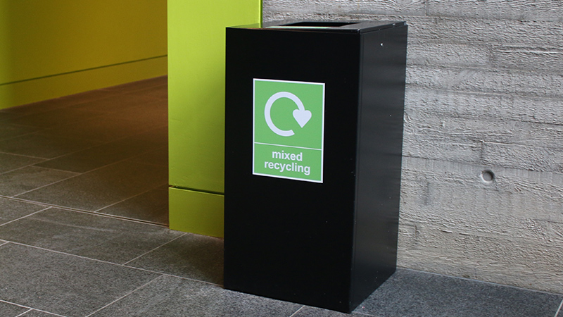 Recycling and waste at Oxford Brookes University